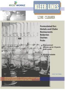 Kleer Lines Sheet